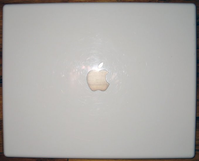 """GENUINE APPLE iBOOK G4 1.42GHz 14"""" LCD SCREEN COVER LID"""