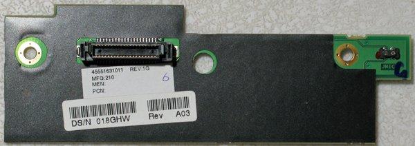 DELL 8000 8100 C800 C810 C840 POWER BUTTON BOARD 18GHW