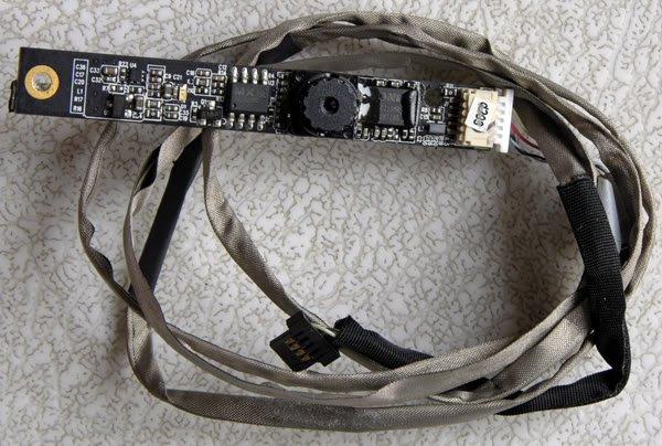 OEM HP DV9000 DV9700 1.3 MP WEBCAM W/ CABLE CN0314-MI02