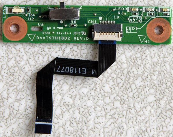 OEM HP PAVILION DV9000 WIRELESS WiFi SWITCH DAAT9TH18D2