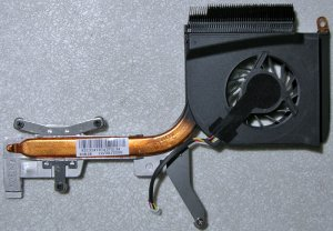 HP DV6000 INTEL CPU HEATSINK & COOLING FAN 434985-001