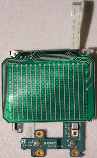 SONY Z1RAP  Z1A MOUSE TOUCHPAD ASSY W/ CABLES SWX-132