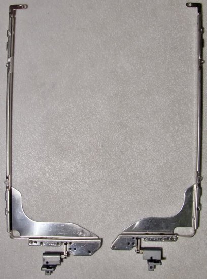 """HP PAVILION ZD7000 ZD8000 17"""" LCD HINGES LEFT & RIGHT"""