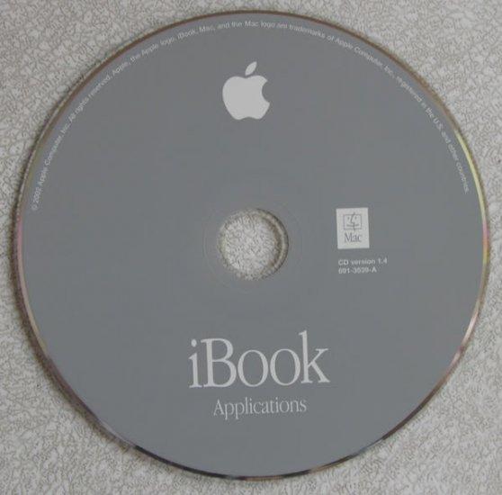 MAC IBOOK APPLICATIONS SOFTWARE RESTORE CD VERSION 1.4
