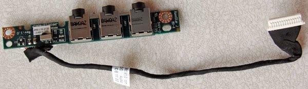OEM HP DV4 DV7 AUDIO BOARD LS-4081P 486840-001 w/CABLE