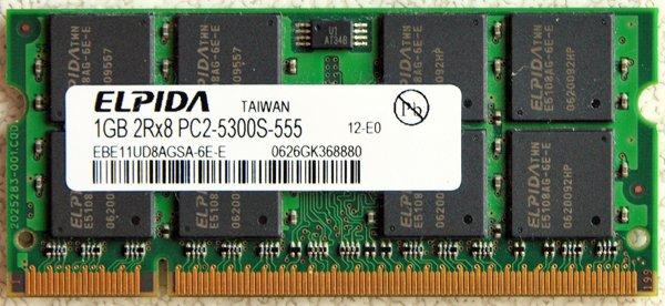 IBM THINKPAD LENOVO T60 X60 T61 R61 1GB RAM PC2 5300S 40Y8403