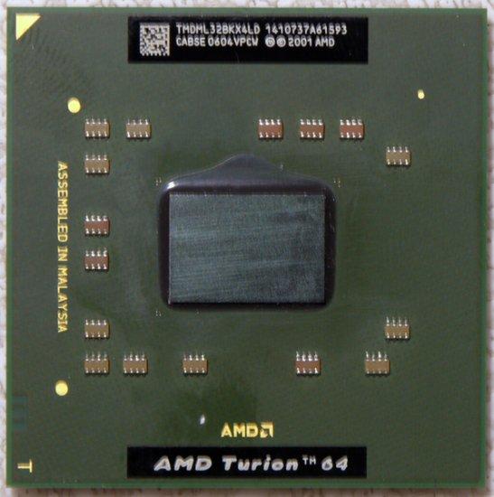 HP PAVILION DV5000 DV8000 COMPAQ V50000 AMD TURION 64 1.8GHz CPU TMDML32BKX4L