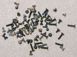 OEM HP PAVILION DV5000 V5000 COMPLETE LAPTOP SCREWS SCREW SET