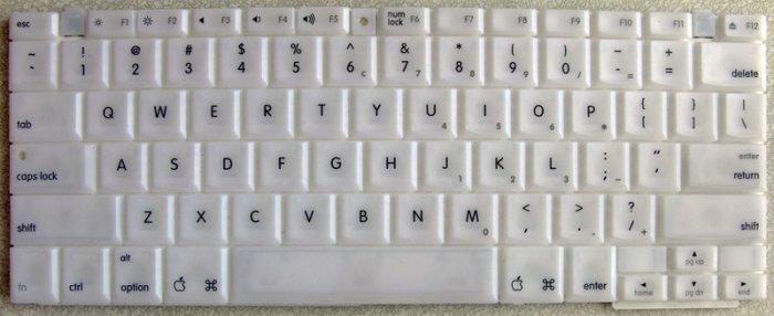 "GENUINE OEM APPLE MAC iBOOK G3 G4 12"" KEYBOARD 922-6901 * LIKE NEW*"
