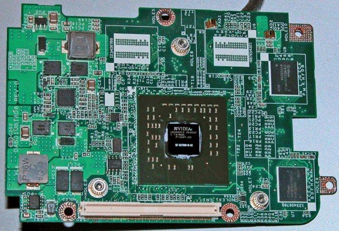 Toshiba P105 128MB nVidia GO7600 128MB Video Card DABD1UB18D8