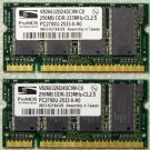 HP DV1000 512MB RAM (2X256) PC2700 DDR 333MHz 367773