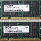 OEM HP PAVILION DV4 ELPIDA 4GB PC2-6400S LAPTOP RAM MEMORY 482169-001