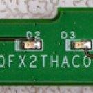 OEM DELL INSPIRON 1501 E1505 LED POWER BUTTON SWITCH DA0FX2THAC0