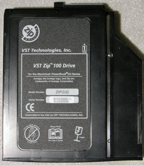 POWERBOOK G3 SERIES LOMBARD PISMO 100MB ZIP DRIVE ZIP32