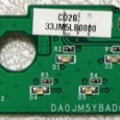 OEM DELL LATITUDE D610 M20 POWER BUTTON BOARD DA0JM5YBAD0 X3178 / 0X3178