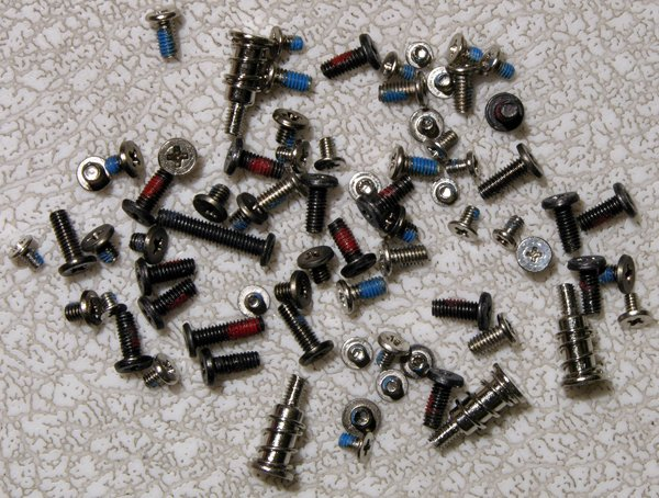 GATEWAY MA3 MA2 MX3231 MX3230 COMPLETE SCREW SCREWS SET