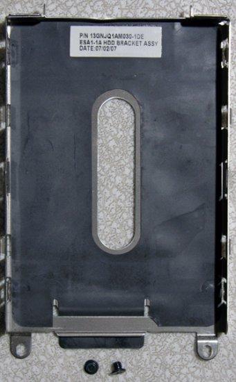 DELL INSPIRON 1420 HD HARD DRIVE CADDY w/ SCREWS JX272 / 0JX272 13GNJQ1AM030