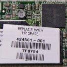 HP PAVILION DV2000 DV6000 DV9000 MINI PCI WIFI CARD 434661-001