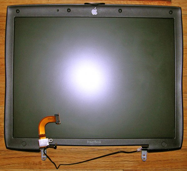 """APPLE MAC POWERBOOK G3 PISMO FIREWIRE 14"""" LCD SCREEN ASSEMBLY"""