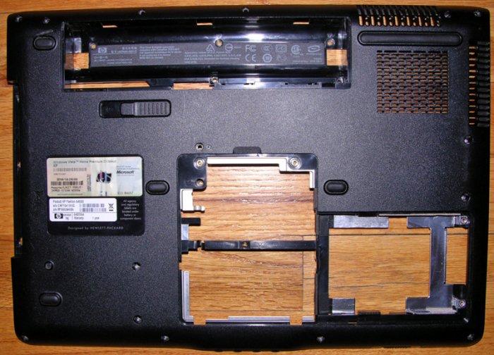 HP PAVILION DV6000 DV6500 DV6700 BOTTOM BASE COVER w/ COA 431426