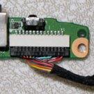 HP PAVILION DV6000 SERIES AUDIO SOUND BOARD DA0AT8AB8F9 / DA0AT3AB8D0 REV D w/ CABLE
