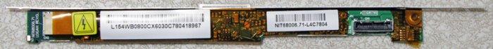 "DELL INPSPIRON 1300 1520 1525 1526 15.4"" LCD INVERTER NIT68008.71"