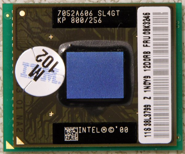 IBM THINKPAD T20 T21 INTEL PENTIUM III 3 MOBILE 800MHz CPU PROCESSOR SL4GT 08K3246