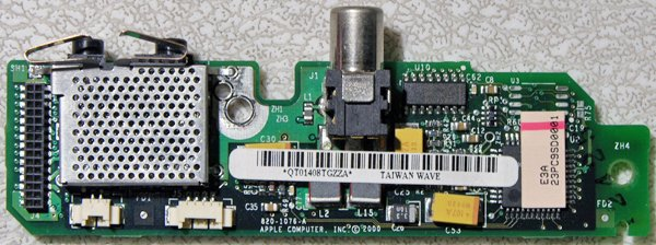 APPLE MAC POWERBOOK G3 PISMO AUDIO / DC JACK 820-1076-A M7572