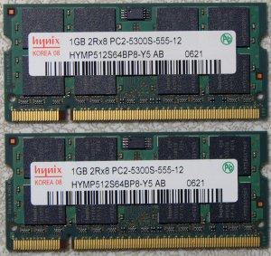 HP PAVILION DV2000 DV6000 DV9000 2GB LAPTOP RAM 417055-001