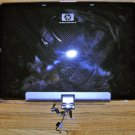 HP PAVILION TX1000 SERIES LCD BACK COVER WITH SPEAKERS CABLES & WEBCAM 441402