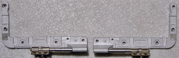 """APPLE MACBOOK 13.3"""" LCD HINGES SET LEFT & RIGHT A1181"""