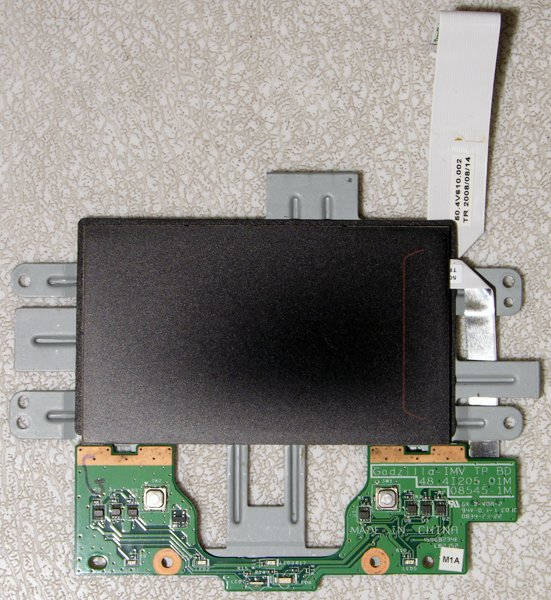 GATEWAY MS2252 P-7801U MOUSE TOUCHPAD ASSY 48.4I205.01M