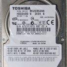 ASUS G50V G50VT TOSHIBA 200GB HD HARD DRIVE MK2035GSS