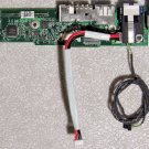 "MAC POWERBOOK G4 15"" DC POWER USB MODEM JACK 820-1602-A"