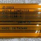 "APPLE MAC POWERBOOK G4 15"" AUDIO FLEX CABLE 821-0289-A 632-0198-A"