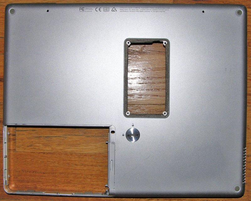 "APPLE POWERBOOK G4 12"" 1.5GHz BASE BOTTOM CASE 922-6075"