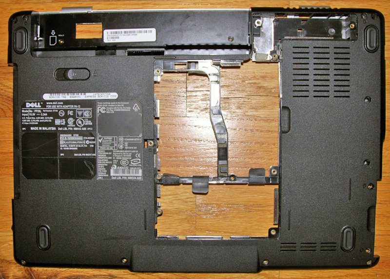 DELL INSPIRON 1525 1526 BOTTOM BASE COVER WP015 0WP015