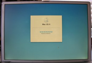 """POWERBOOK G4 15.4"""" 1.67GHz COMPLETE LCD SCREEN ASSEMBLY"""