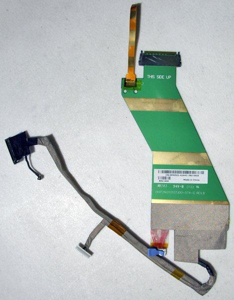"""DELL INSPIRON VOSTRO 1500 1520 1521 15.4"""" LCD CABLE PM501 0PM501 010107J00"""