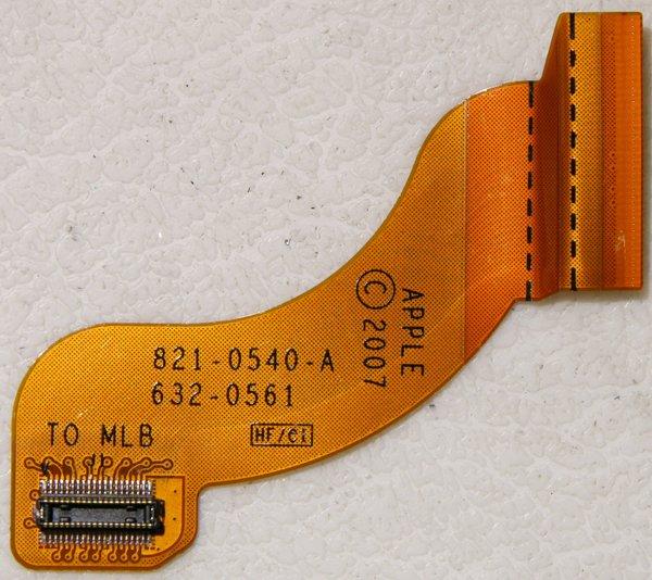 MACBOOK AIR A1237 HD HARD DRIVE FLEX CABLE 821-0540-A