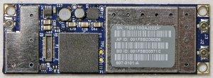 """MACBOOK AIR 13"""" A1237 AP WIFI BLUETOORH CARD 607-3101-A"""