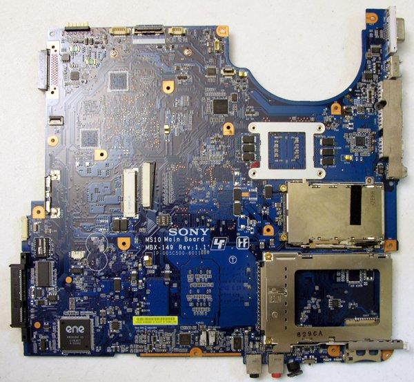 SONY VAIO VGN-FE590P FE770G FE880E MOTHERBOARD A1227937 MBX-149 1P-005C500-8011