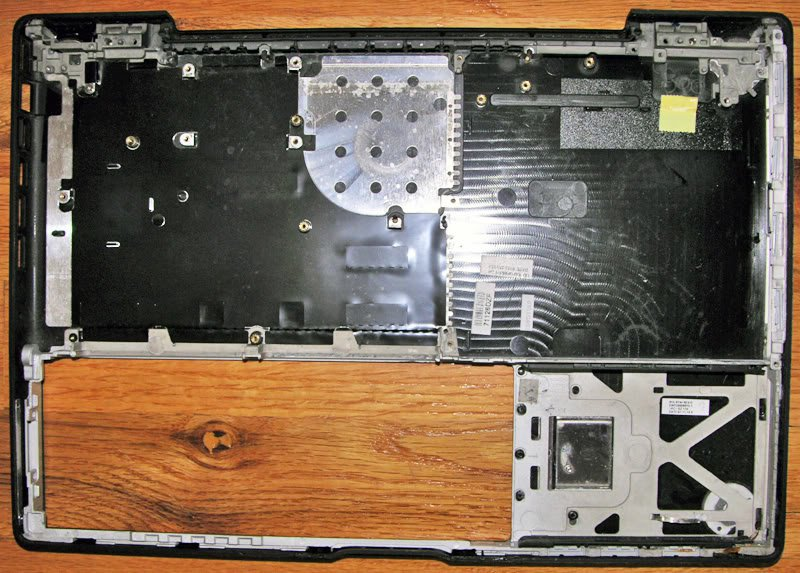 "APPLE BLACK MACBOOK 13.3"" BOTTOM CASE 815-9744 A1881"
