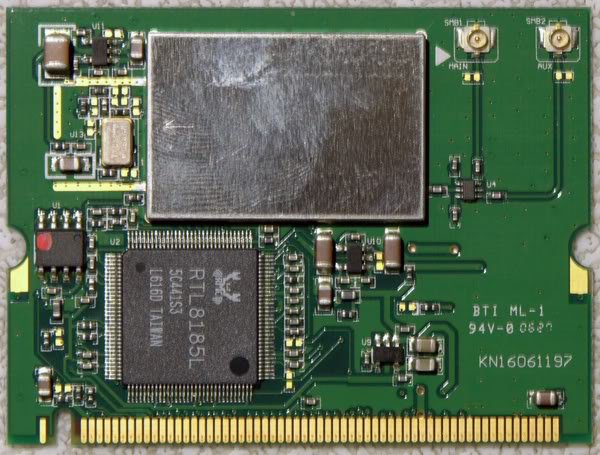 GATEWAY MX3231 MT3423 WiFi WIRELESS CARD 83-880147-000G
