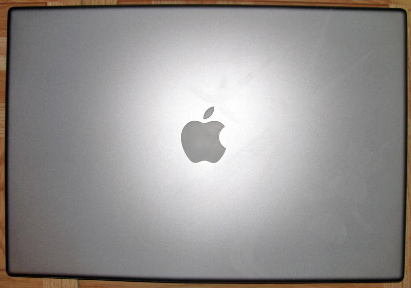 "APPLE OEM MACBOOK PRO A1150  A1211 15"" LCD BACK COVER 603-7751-H  ""A"""