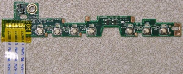 DELL 1400 1420 MEDIA BUTTON BOARD UX289 08G20EA3500GDE