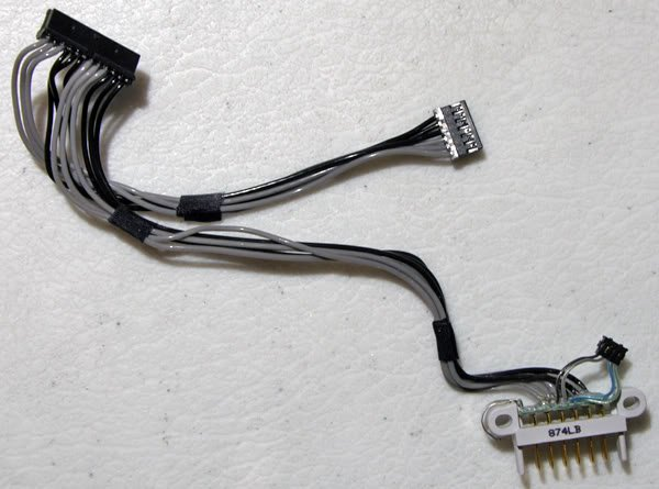 """MACBOOK PRO 15"""" A1260 BATTERY CONNECTOR CABLES 922-8360"""