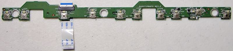 HP DV1000 POWER SWITCH BOARD 33CT1PB0019 DA0CT1PB6F0