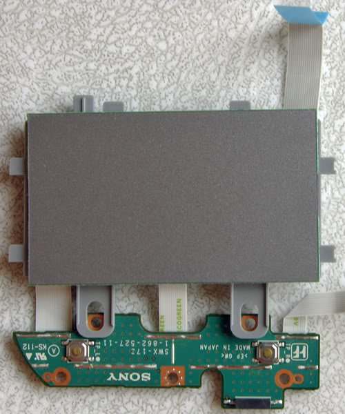 SONY VGN-S150 S170 S260 S360P MOUSE TOUCHPAD ASSEMBLY