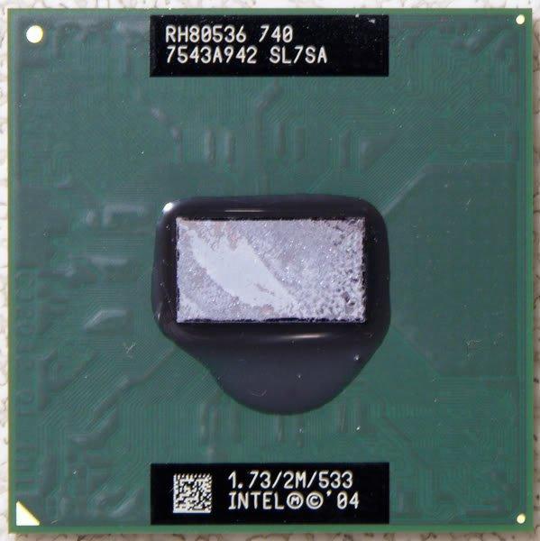 SONY VAIO VGN-FJ170 INTEL CENTRINO M 1.73GHz CPU SL7SA
